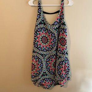 Target Patterned Tank Top Dress